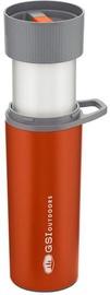 Siltumu saglabājošās krūze GSI Outdoors Glacier Stainless Commuter JavaPress Cup Orange