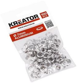 Kreator Eyelets Aluminium 7mm 100pcs