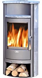 Abx Pori 5 Wood Burning Fireplace Stove 7kW