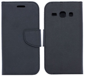 Telone Fancy Diary Bookstand Case For LG K3 K100 Black