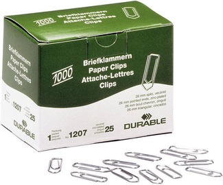 Durable Paper Clips 1000pcs 26mm
