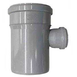 Kanalizācijas caurules trejgabals Wavin D110/50mm, 88°, PVC
