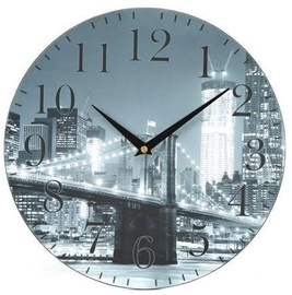 Platinet City Wall Clock Grey