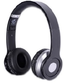 Ausinės Rebeltec Bluetooth Headphone Cristal Black