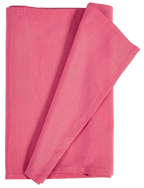 Home4you Nora Tablecloth 40x160cm Pink