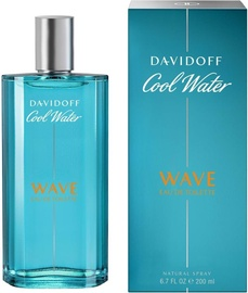 Tualetes ūdens Davidoff Cool Water Wave 200ml EDT
