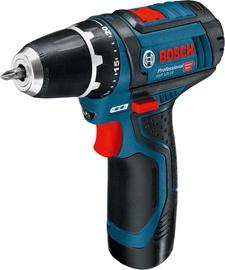 Bosch GSR 12V-15 Cordless Drill with 2 Batteries
