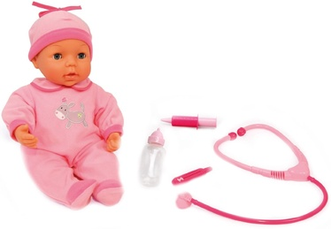 Bayer Doctor Baby Doll with Medical Kit 38cm 93877