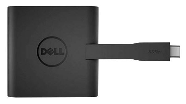 Dell Adapter USB C to VGA / HDMI / USB Black