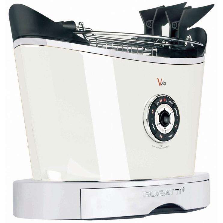 Bugatti Volo Toaster 13-VOLOC1 White