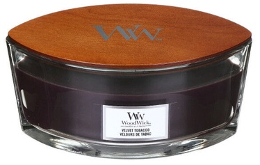 Свеча WoodWick WoodWick Elipsa 453.6g Velvet Tobacco, 40 час