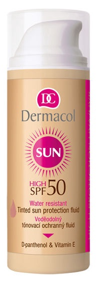 Dermacol Sun WR Tinted Sun Protection Fluid SPF50 50ml