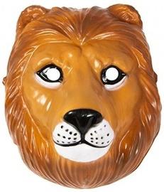 Maska Lion, brūna, 220 mm