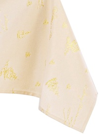 AmeliaHome Christmaseve Tablecloth HMD Gold 140x300cm