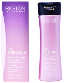 Šampūnas Revlon Be Fabulous Consistency Antifreeze Cream For Straight Hair, 250 ml