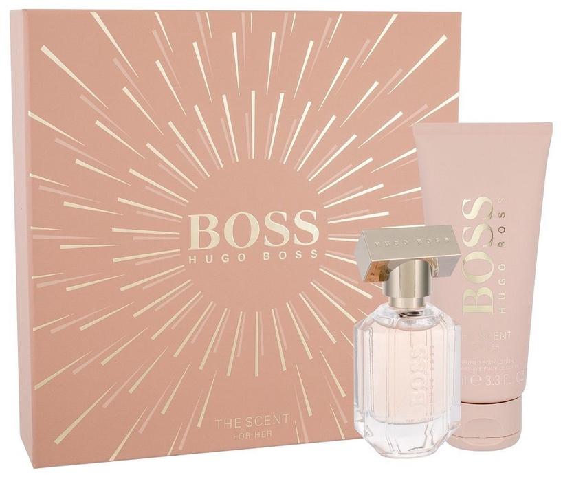 Набор для женщин Hugo Boss The Scent For Her 100 ml EDP + 200 ml Body Lotion New Design