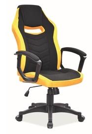 Biroja krēsls Signal Meble Camaro Yellow/Black