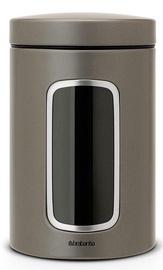 Brabantia Window Canister 1.4l Platinum