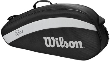 Wilson Roger Federer Team 3 Pack Bag Black