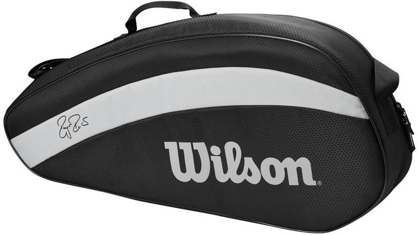 Wilson Roger Federer Team 3 Pack Bag Black