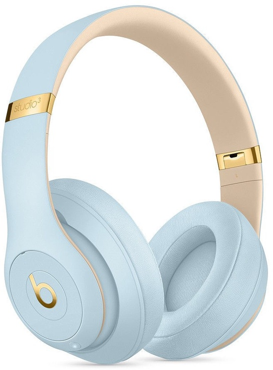 Beats Solo 3 Wireless Over-Ear Skyline Collection Crystal Blue