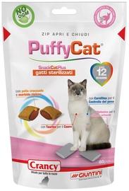 Kārumi kaķiem Crancy Snack Cat Plus PuffyCat, čipsi, cepumi, 0.06 kg