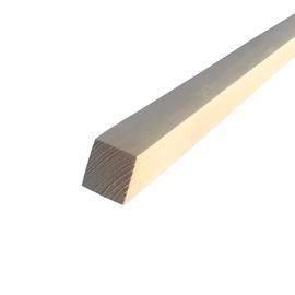 Medinis kuolas 1.5 m 25x25 (kvadratas)