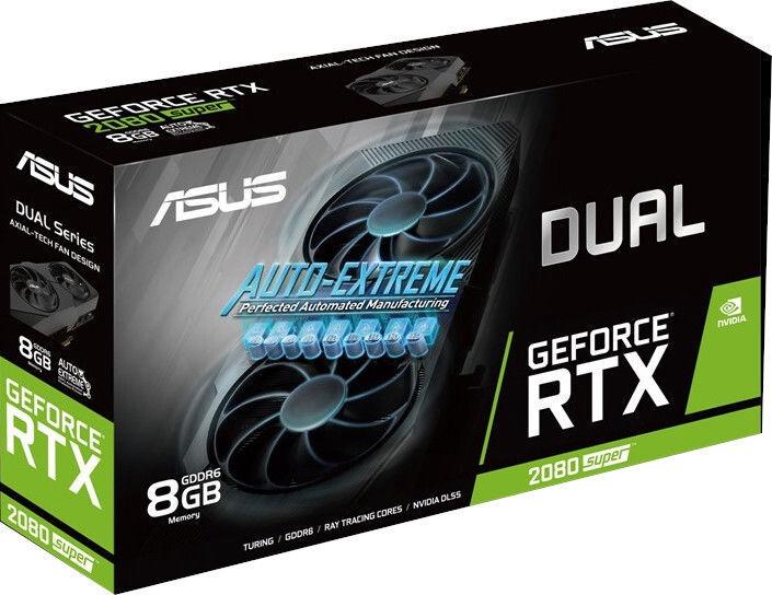 Asus Dual GeForce RTX 2080 Super Evo V2 8GB GDDR6 PCIE DUALRTX2080S8GEVOV2