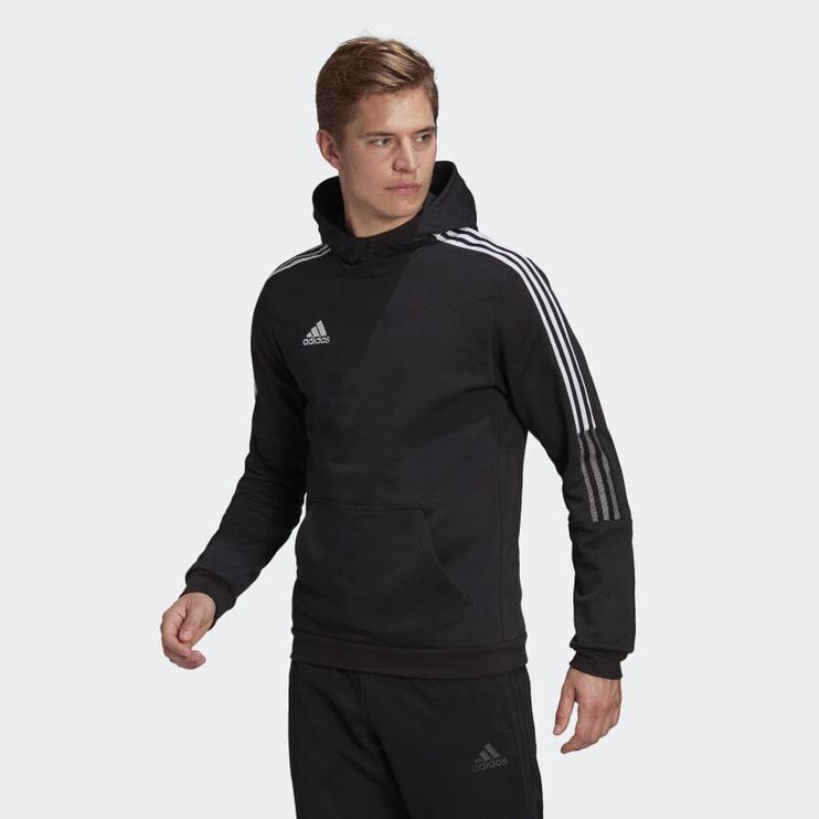 Джемпер Adidas Tiro 21 Sweat Hoodie GM7341 Black S