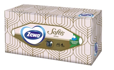 SALVETES ZEWA SOFTIS BOX 80PC