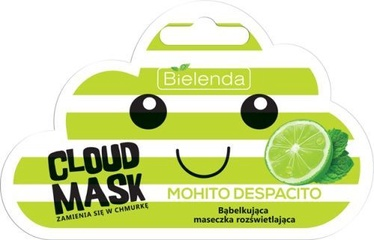 Bielenda Cloud Mask Illuminating Bubble Mask Mohito Despacito 6g