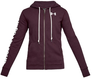Under Armour Full Zip Hoodie Favourite 1302361-916 Red XS