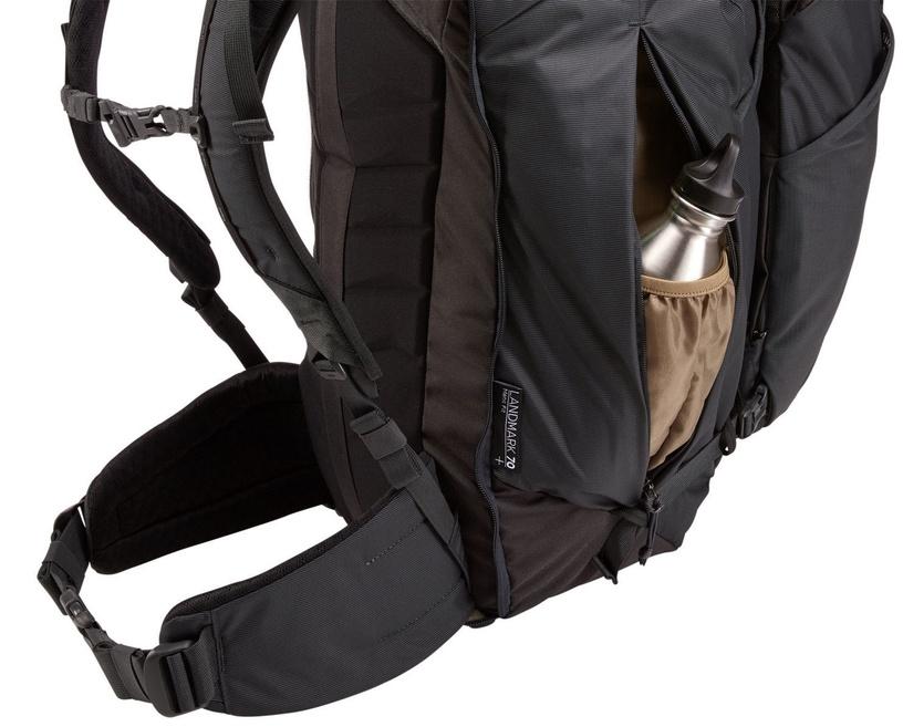 Thule Landmark 70L Backpack Obsidian