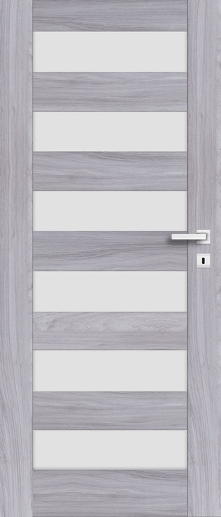 Полотно межкомнатной двери PerfectDoor ERIE 01, серый, 203.5 см x 64.4 см x 4 см