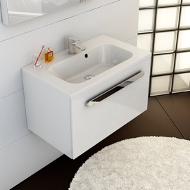 Ravak Sink Chrome 800x490 White