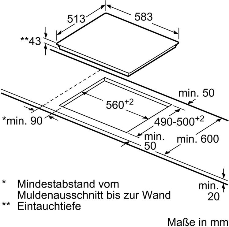 Cepeškrāsns Bosch HND671LS60 + Elektriskā plīts