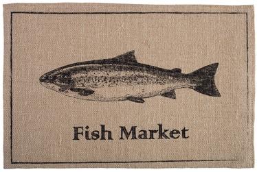 Home4you Linen 30x45cm Jute/Fish