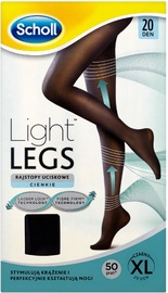 Scholl Light Legs 20 Black XL