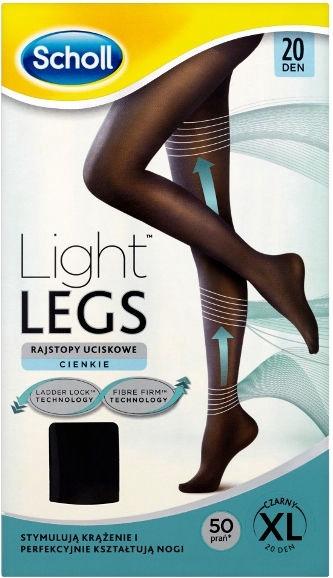 Scholl Light Legs 20 Black XL