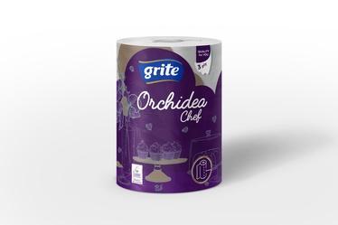 Popierinis rankšluostis Grite Orchidea, 3 sl.
