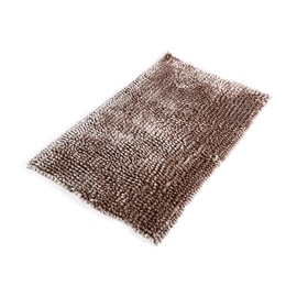 Domoletti Bath Mat 50x80cm Chenille Dark Brown