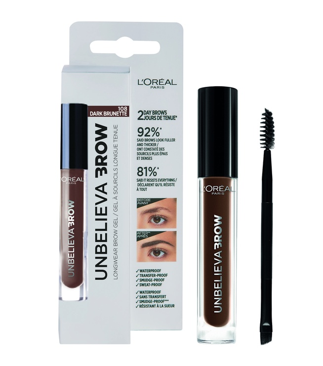 L´Oreal Paris Unbelieva Brow Long Lasting Brow Gel 3.4ml 108