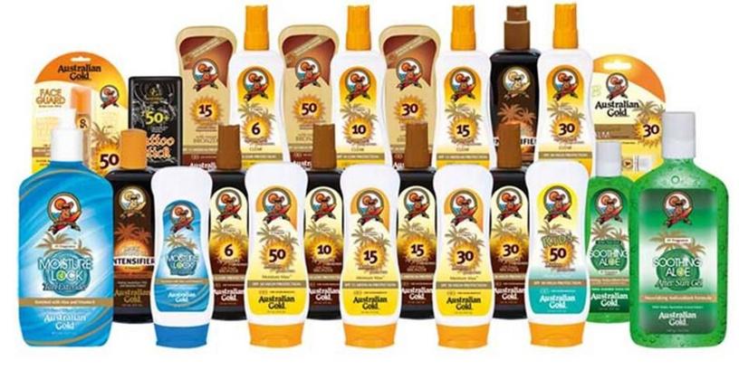 Australian Gold Sunscreen Spray Gel With Instant Bronzer SPF6 237ml