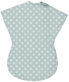Summer Infant SwaddleMe Wiggle Blanket Large Teal/White Star