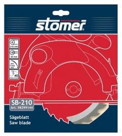 Stomer PSB-210 Saw blade