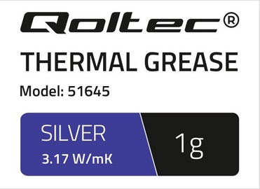 Qoltec Thermal Grease 3.17 W/m-K 1g