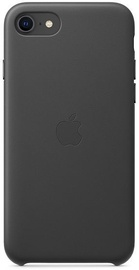 Apple iPhone SE Leather Case Black