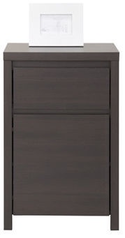 Black Red White Chest of Drawers Kaspian 1D1SP Wenge