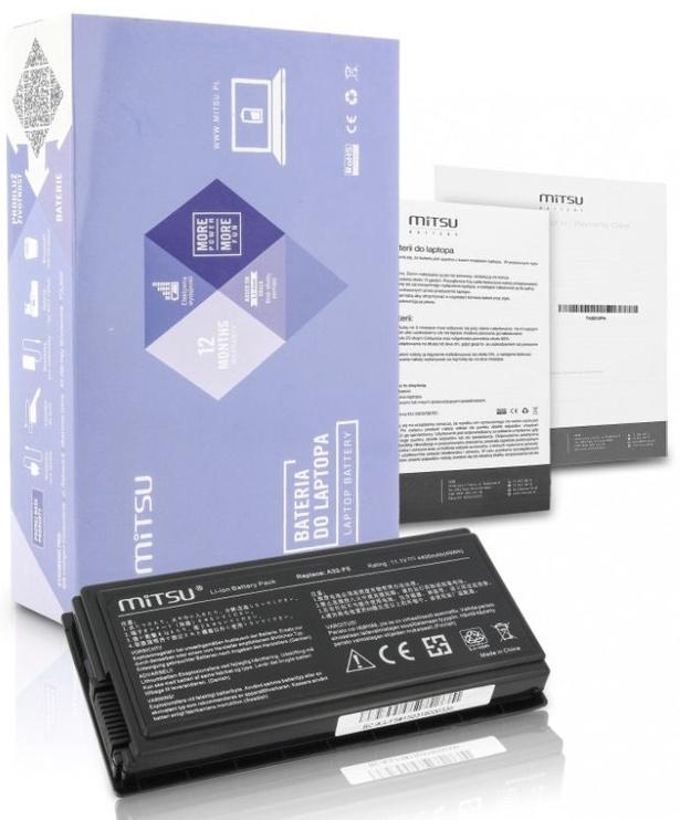 Mitsu Battery For Asus F5/X50 4400mAh