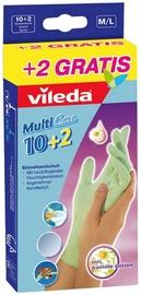 Vileda Gloves Multi Care M/L 10+2pcs